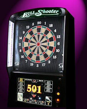 Bull Shooter Electronic Dart Board