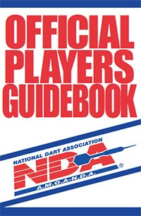 National Dart Association Official Players Guidbook Logo